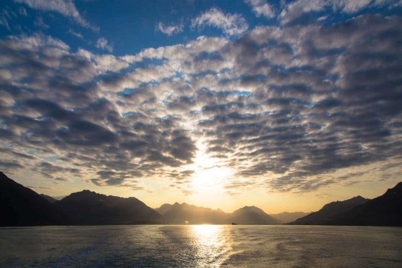 Day-14-Sunrise-on-the-Valdez-to-Whittier-Ferry