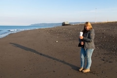 Day-19-Carole-Thody-Coffee-Homer-Spit-Beach-Alaska