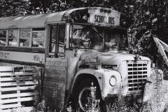 Rusting School Bus