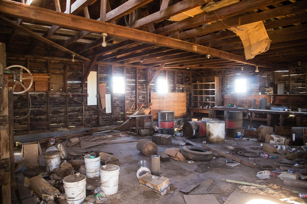 Barn Interior, Washington