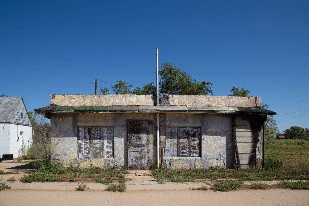 Texola, Route 66