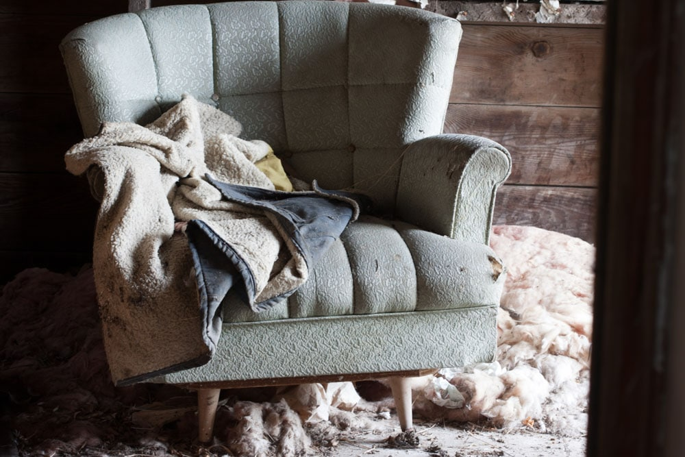 Coat and Chair