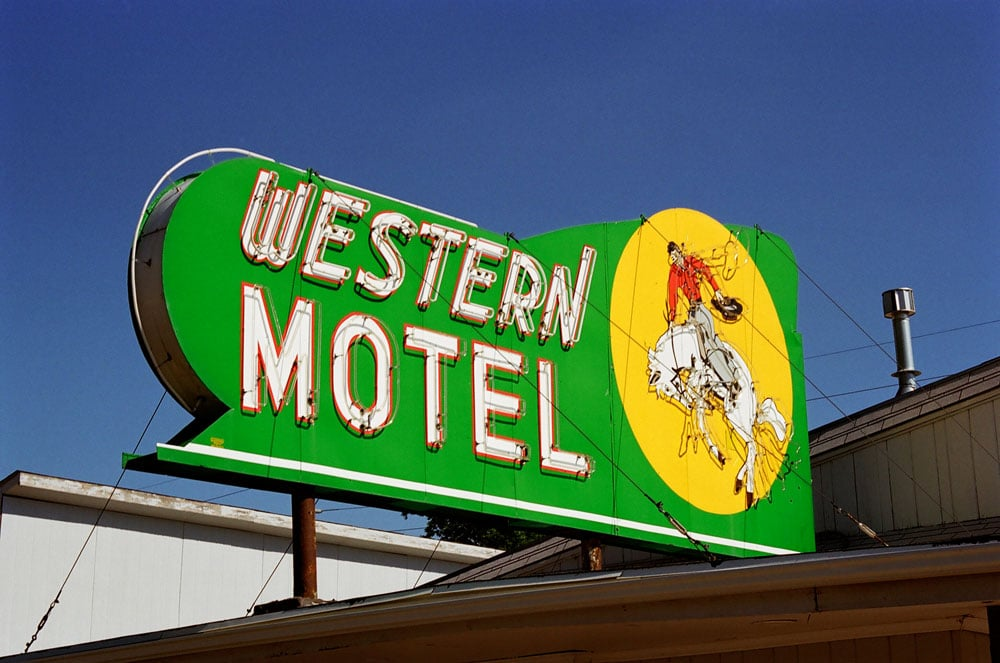 Western Motel, North Platte, Colorado