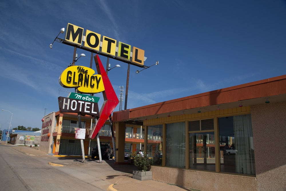 Glancy Motel, Clinton, Oklahoma