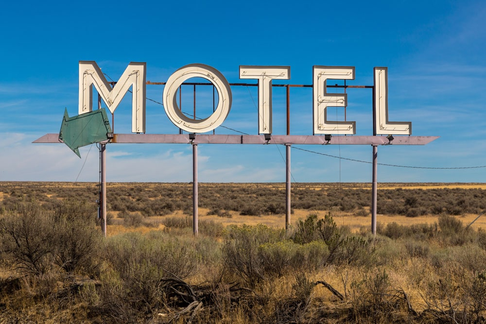 Motel Sign, Washington