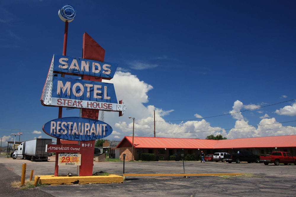Sands Motel, Van Horn, Texas