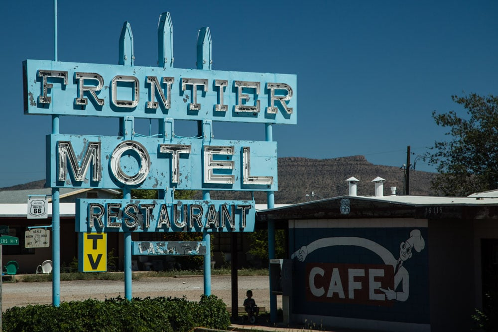 Frontier Motel, Truxton, Arizona