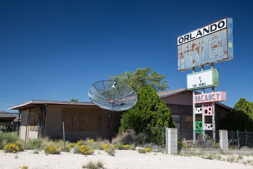 Orlando Motel, Truxton, Arizona