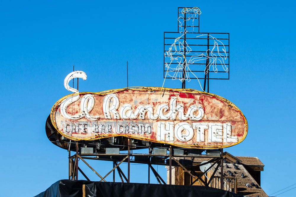 El Rancho Hotel, Wells, Nevada