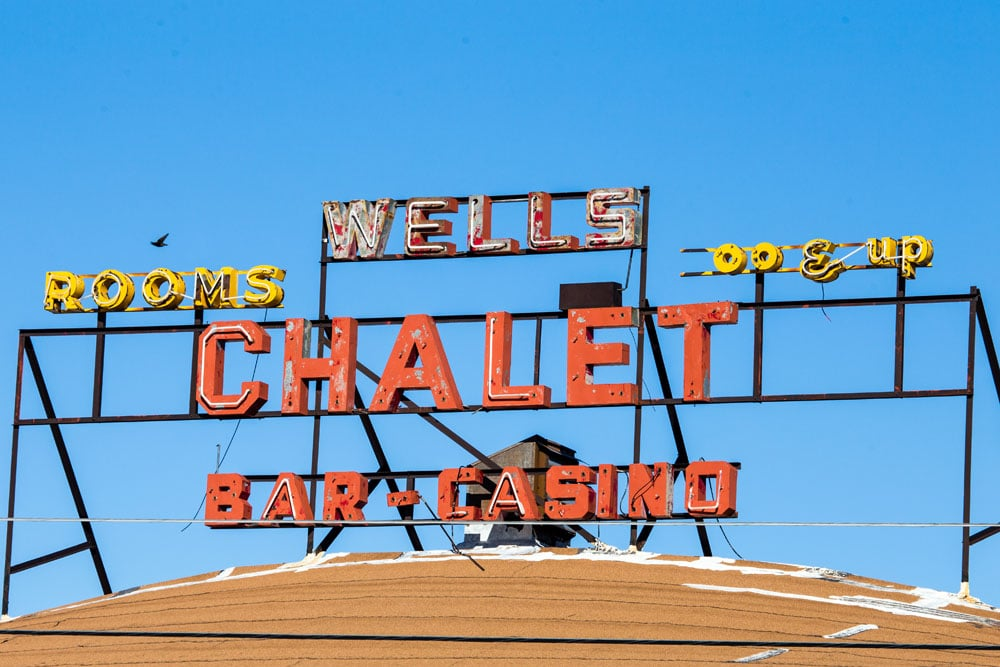 Chalet Bar Casino, Wells, Nevada