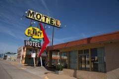 Glancy Motel, Clinton, Oklahoma
