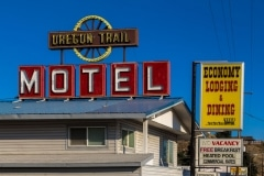 Oregon Trail Motel, Baker City, Oregon