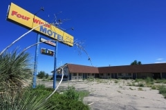 Four Winds Motel, New Mexico