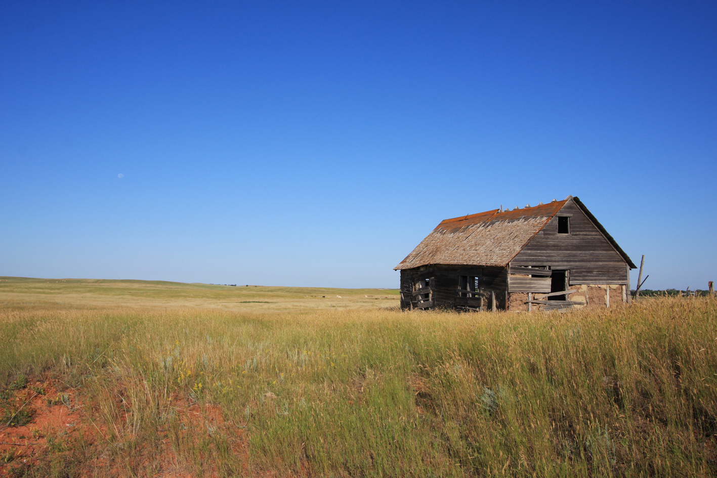 Abandoned Barn, Little Missouri National Grassland