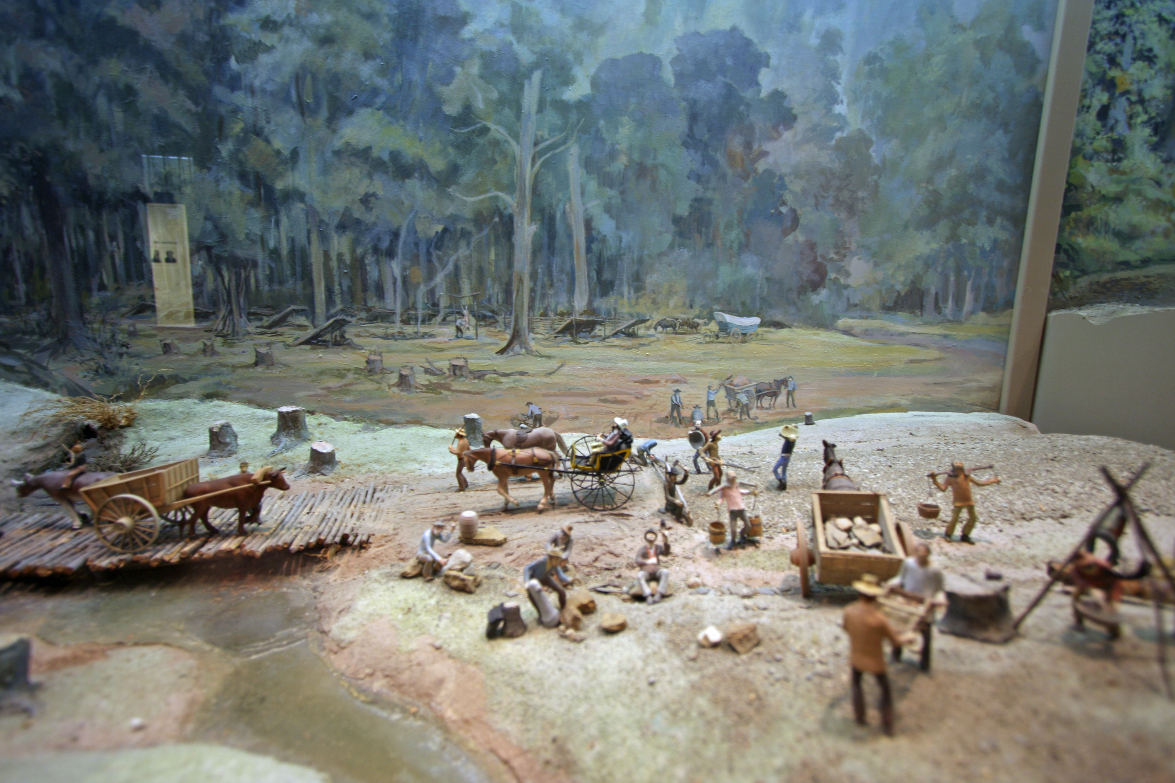 Diorama, National Road Museum