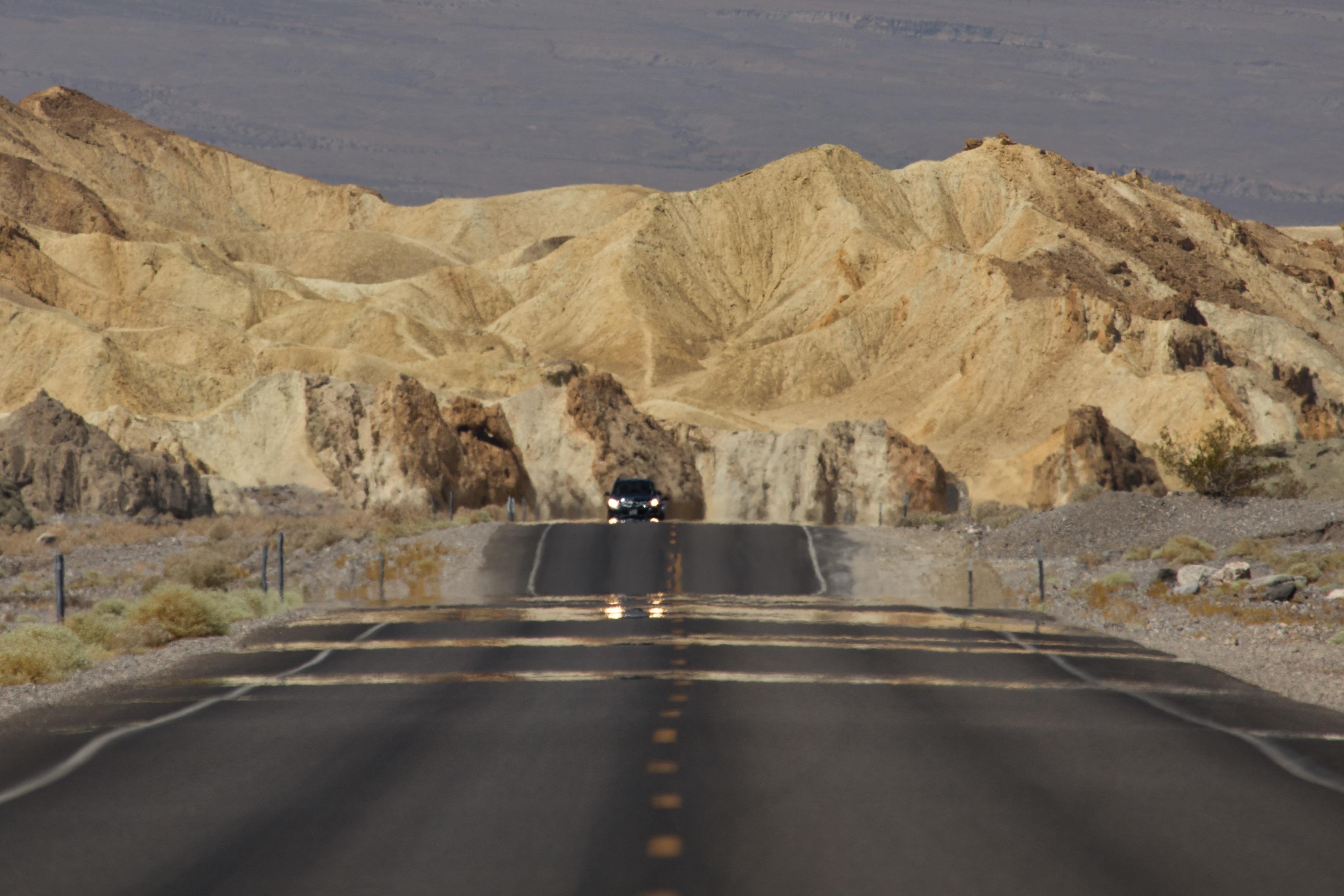 Heat Haze, Death Valley National Park, California