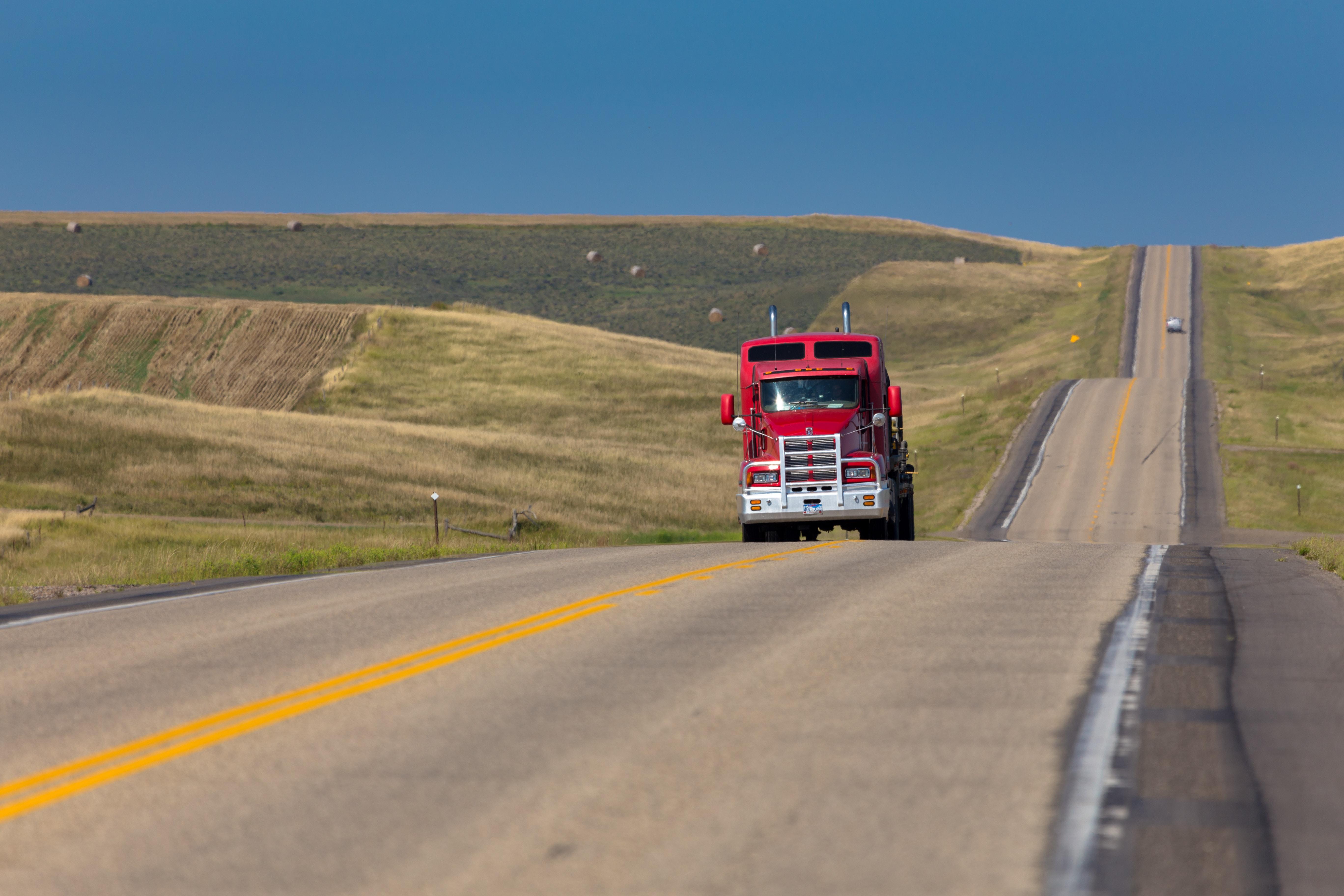 Red Truck, South Dakota