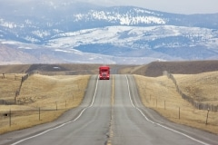 Red Truck, Montana Hwy 287