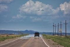 Route 66 Heat Haze, Arizona