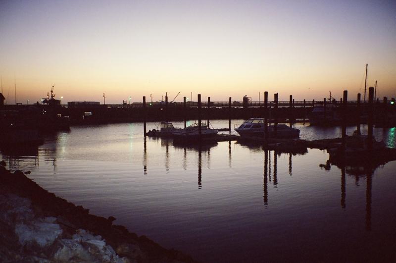 Bandon harbor, Oregon