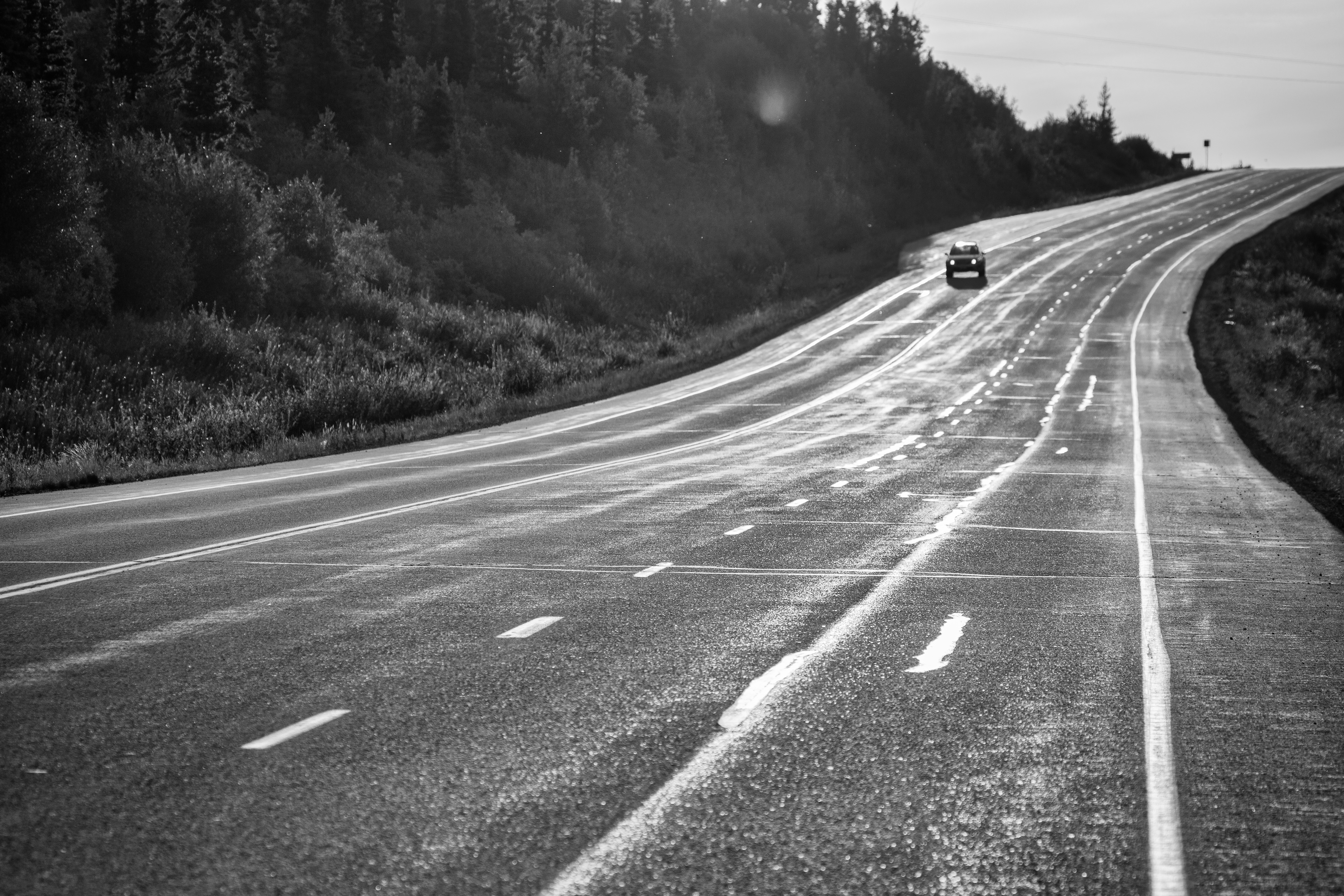 Early Morning, Glenn Highway, Alaska