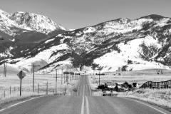 East River Road (Highway 540), Pray, Montana