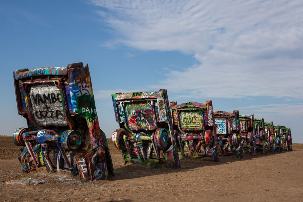 Cadillac Ranch, Amarillo, Route 66
