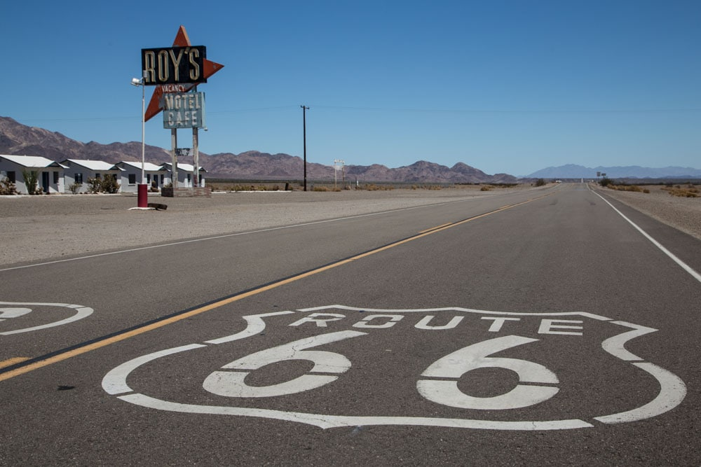 Roy's Motel & Cafe, Route 66