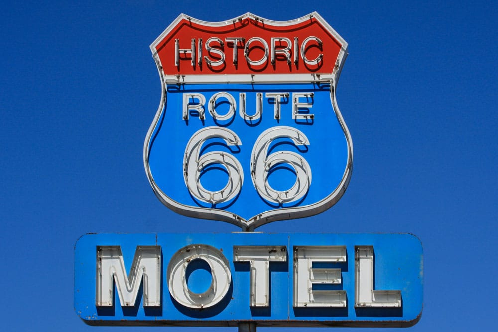 Motel Sign, Seligman