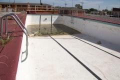Empty Motel Pool