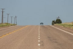 Route 66 Heat Haze, Texas