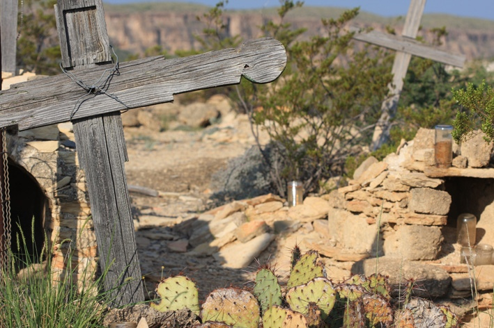 Cemetery, Terlingua Ghost Town
