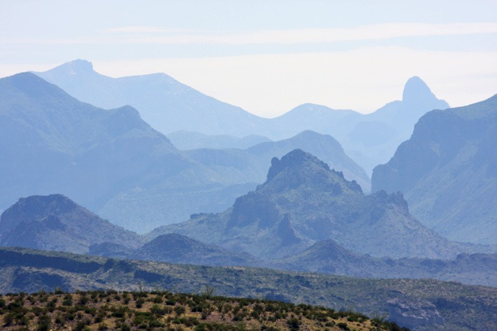 Chicos Mountains, Big Bend National Park