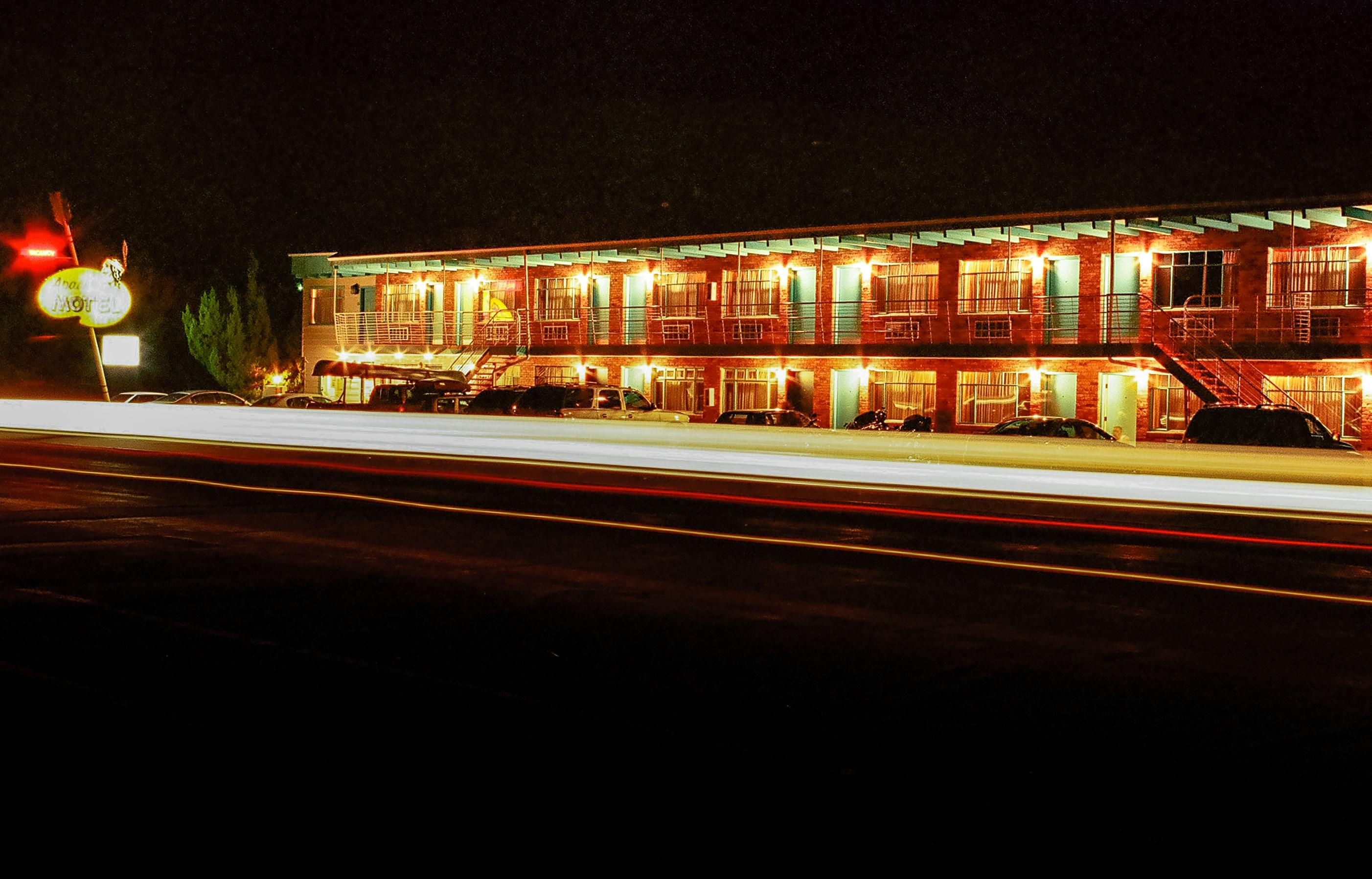 Night time, Apache Motel, Moab, Utah