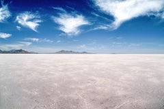 Salt and Cloud, Bonneville Salt Flats, Tooele County