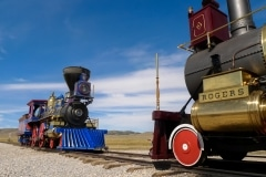Golden Spike National Historical Park, Promontory Summit, Utah-