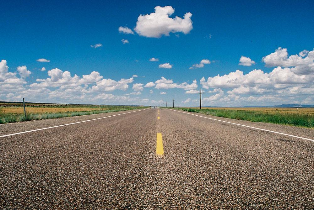 Cloud above Route 66, Arizona