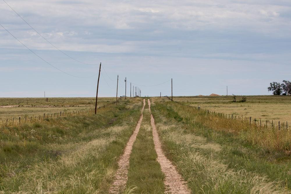Farm Tracks, Texas