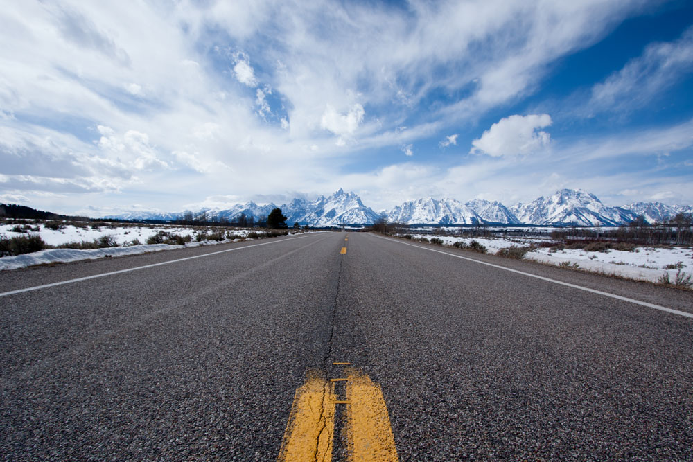 Grand Tetons, Highway 89
