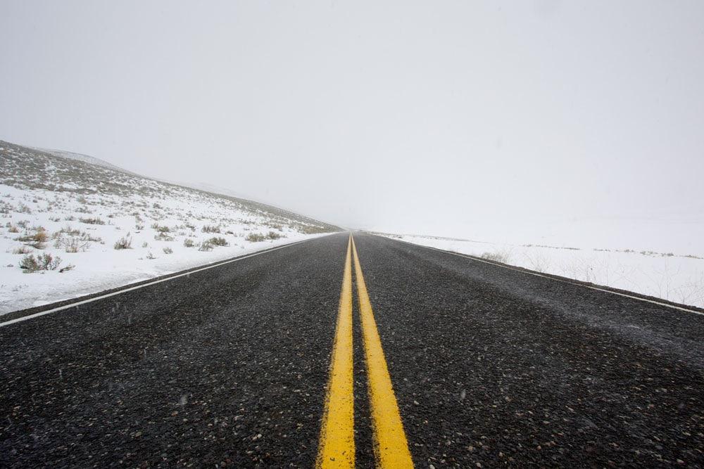 US Route 212, Yellowstone, Wyoming
