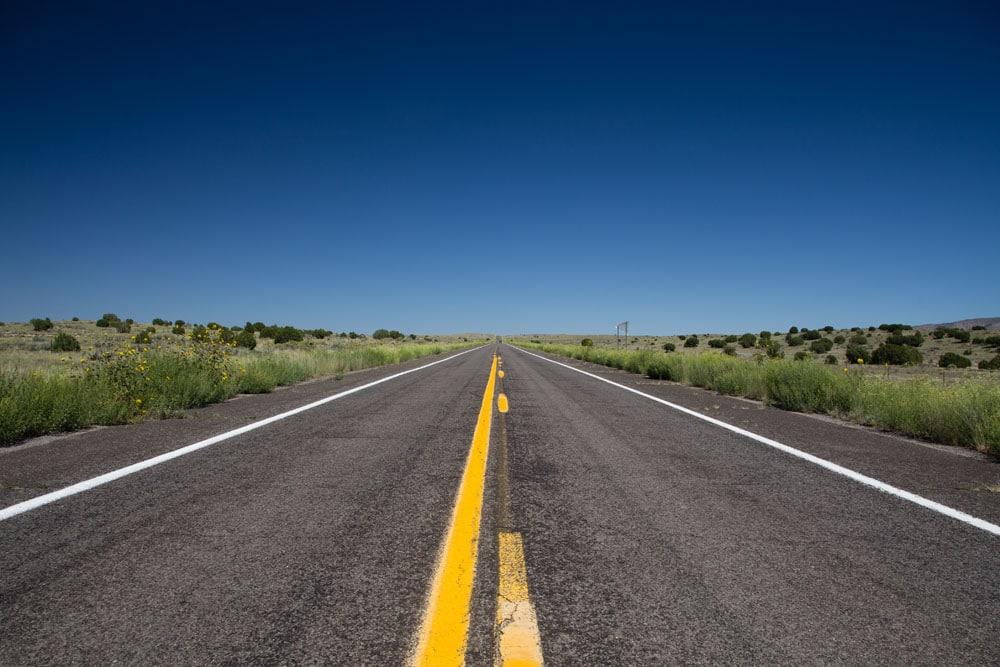 Sage Brush, Route 66, Arizona