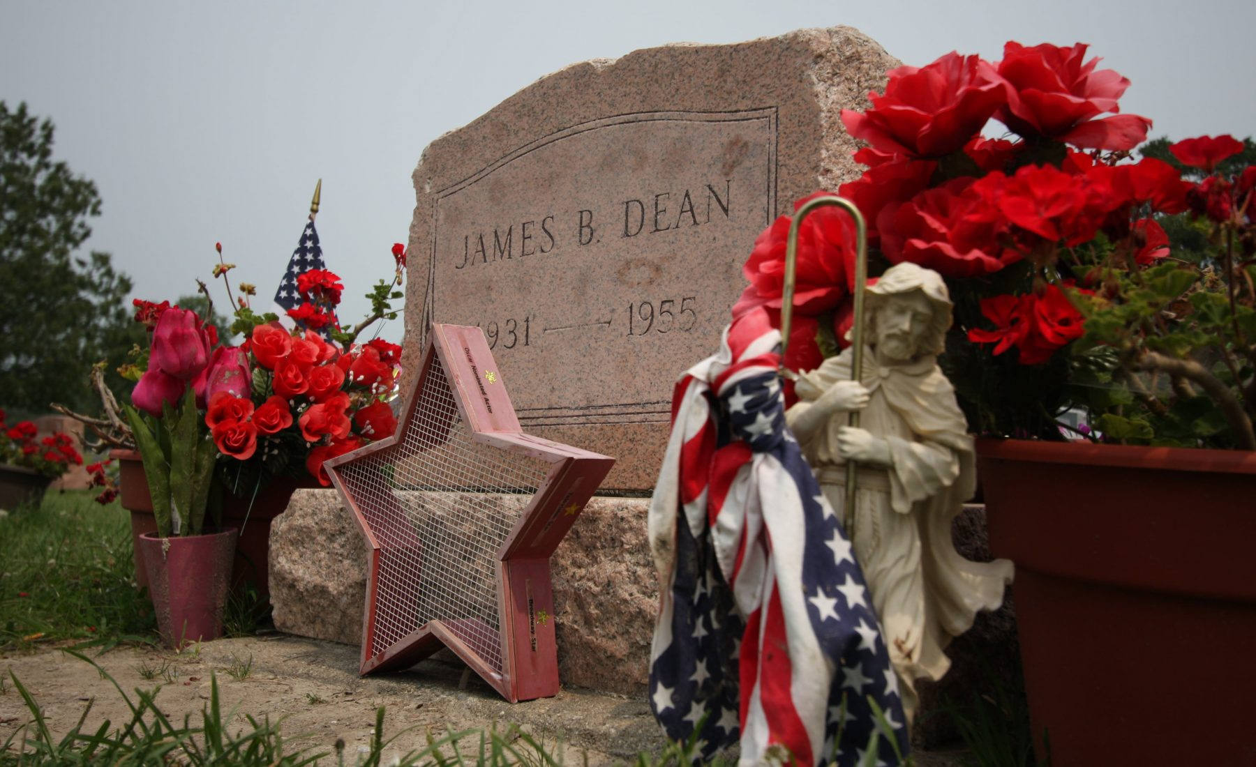 James Dean's Grave, Fairmount, Indiana