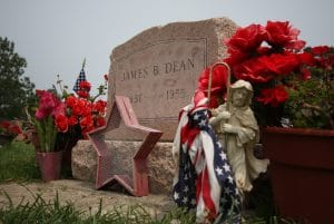 James Dean Gravestone