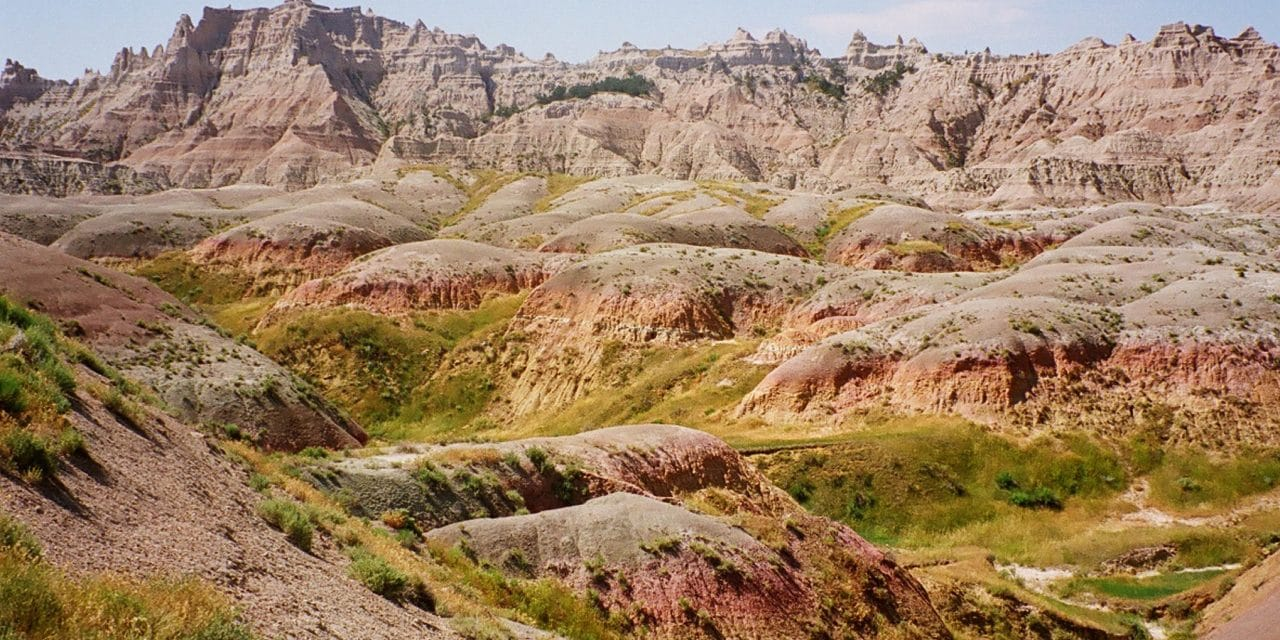 South Dakota, Pierre to Badlands National Park