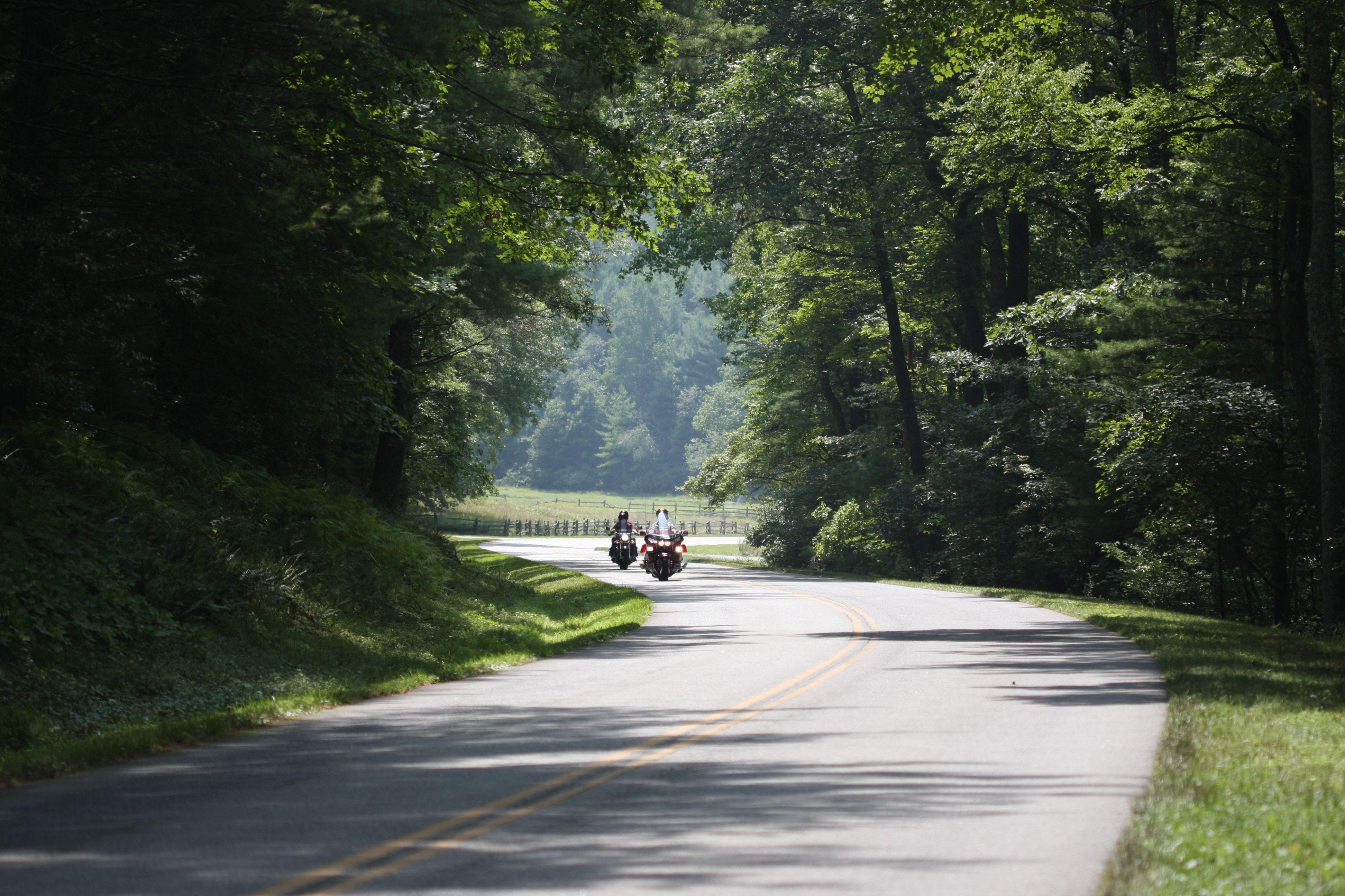 Blue Ridge Parkway: North to Cumberland Knob