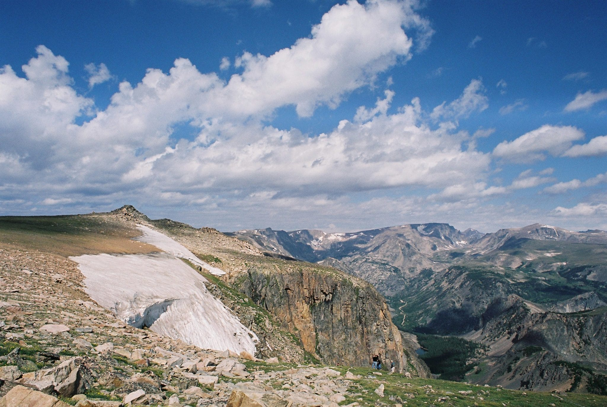 Montana: Yellowstone on  Beartooth Highway
