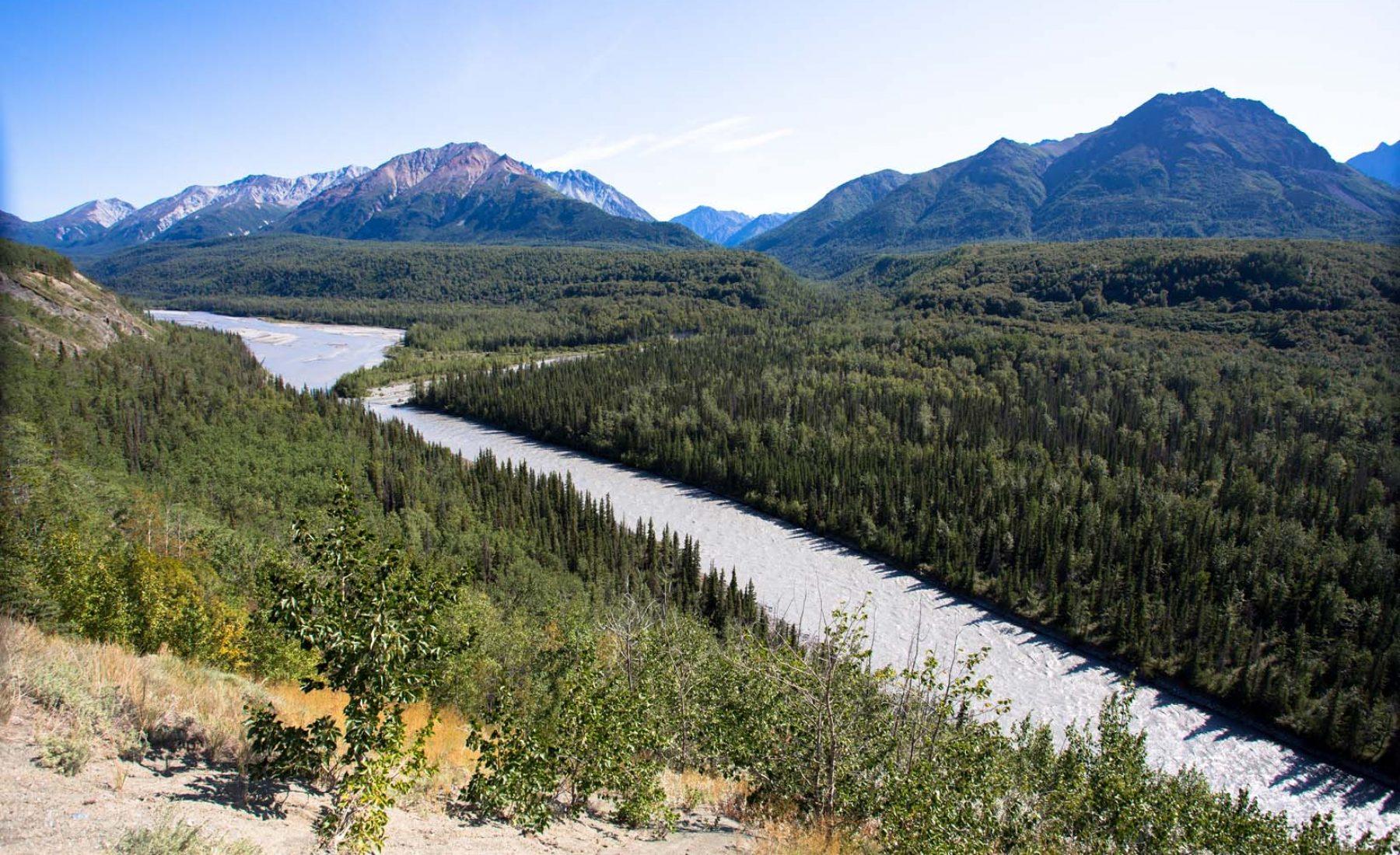 Alaska Day 2: Anchorage to Matanuska